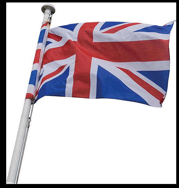 Zwaaivlaggetje Engelse vlag