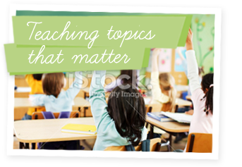 Teaching topics that matter
